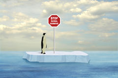 Arrêtez le réchauffement global Image stock