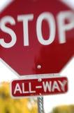 Arrêtez le rêve de signe   photographie stock libre de droits