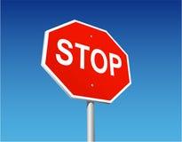Arrêtez le signe Photos stock
