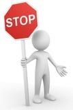 Arrêtez le signe Photographie stock