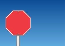 Arrêtez le signe Images stock