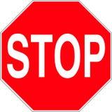 Arrêtez le signe Illustration Libre de Droits
