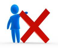 arrêtez le symbole Photos libres de droits