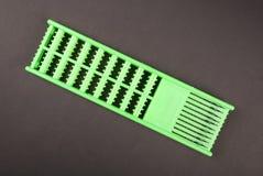 Arrêts verts d'un supplément de cheveux Photographie stock libre de droits