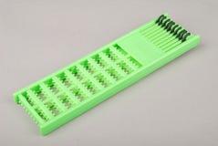 Arrêts verts d'un supplément de cheveux Photos stock
