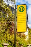 Arr?t de tram ? Dresde photographie stock