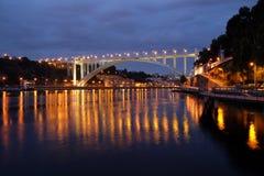 Arrabida桥梁 免版税图库摄影