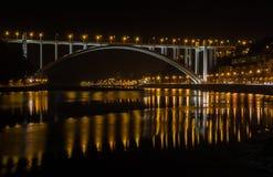 Arrabida Bridge Porto Portugal royalty free stock photos