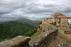 Arrabida castle royalty free stock photography