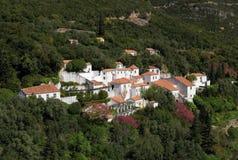 Arrabida klasztor, Setubal, Portugalia Zdjęcia Stock