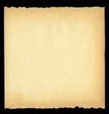 Arraché vieux papier Images libres de droits