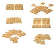 arragements kolekci krakers Zdjęcia Stock