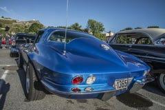 Arraia-lixa 1965 de Chevrolet Corvette Fotos de Stock