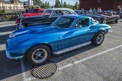 Arraia-lixa 1965 de Chevrolet Corvette Foto de Stock