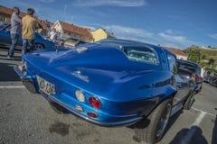 Arraia-lixa 1965 de Chevrolet Corvette Fotos de Stock Royalty Free