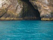 Arraial font Cabo, grotte bleue photographie stock