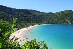Arraial hace la playa de Cabo - de Forno Imágenes de archivo libres de regalías