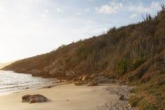 Arraial robi Cabo, Cabo Frio, RJ, Brazylia zdjęcie stock