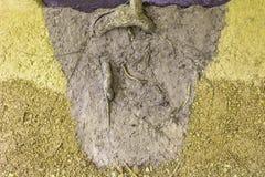 Arraigado en el fondo del modelo del suelo Foto de archivo libre de regalías