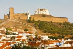 arraiolos城堡 库存照片