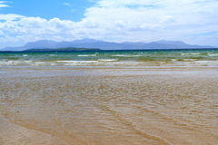 Arran from Ettrick Bay Stock Photography