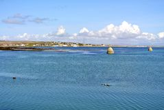 Arran wyspy Ireland ocean Obraz Royalty Free