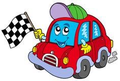 Arrancador de la raza de coche libre illustration