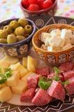Arrancadores deliciosos Foto de archivo libre de regalías