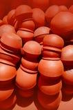 Arrange clay pots Stock Image