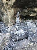 Arrange the stones. Stock Photo