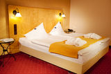 Arranged Bed In Hotel Room Royalty Free Stock Images