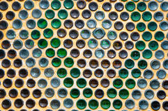 Arranged bottom of beer bottle Royalty Free Stock Images