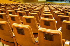 Arranged cosy seats Stock Image