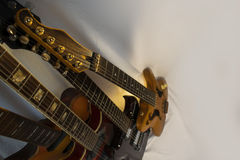 Arranged for four guitars Royalty Free Stock Photography