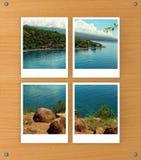 Arranged photo frames Stock Photos