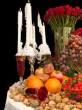 Arranged table royalty free stock image