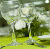 Arranged table Royalty Free Stock Photography