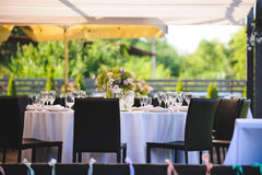 Arranged Table royalty free stock images