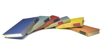 Arrangement of books Stock Image