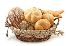 Arrangement of bread Stock Photography