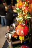 Arrangement chinois de buffet de nouvelle année photo stock