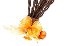Arrangement with chocolate sticks Stock Photography