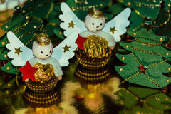 Arrangement of Christmas sweets Stock Image