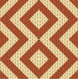 Arrangement for a colorful quilt design Stock Photos