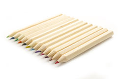 Arrangement of crayon Royalty Free Stock Images