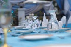 Arrangement of cutlery Stock Images
