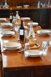 Arrangement de dîner photos libres de droits