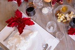 Arrangement de fête de table, arrangement de table Image libre de droits