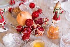 Arrangement de fête de table, arrangement de table Image stock
