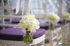 Arrangement de mariage Photo stock